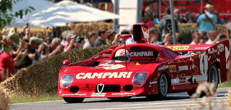 The Annual Adelaide Motorsport Festival is a live and interactive museum exhibit.
