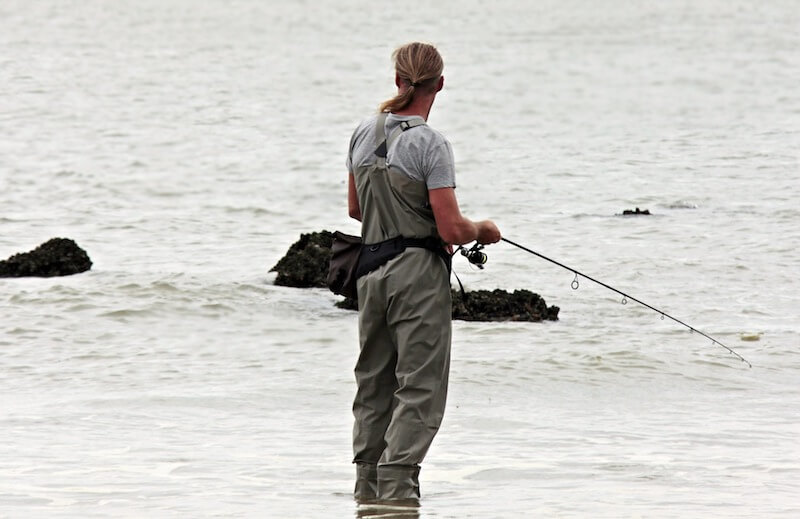 Fishing is a popular activity in Brisbane.